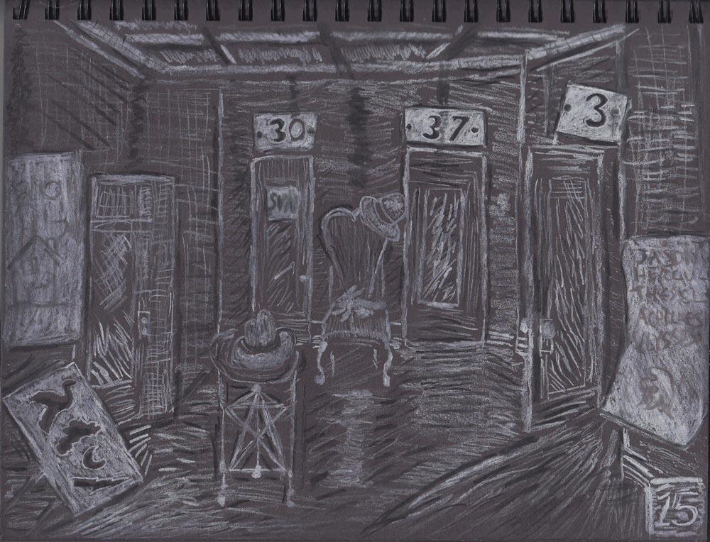 Crouchman charcoal 15