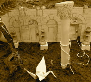 Maze diorama